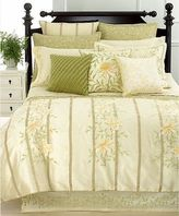 Martha Stewart Veranda Vines Luxury King Bedskirt - Msrp $220