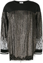 Aviu sequined fringe dress