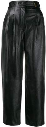Twin-Set faux leather trousers