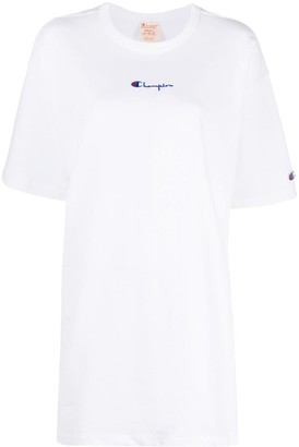 Champion small script logo oversized T-shirt