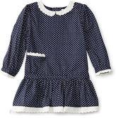 Ralph Lauren Dot Cotton Dress & Bloomer