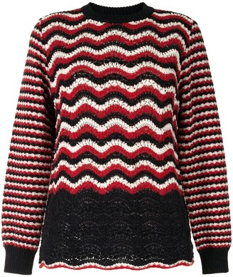 Coohem Retro Wave knit jumper