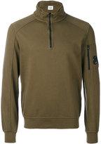 C.P. Company zipped neck sweatshirt