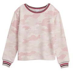 Splendid Girls' Camouflage Hacci Top - Little Kid