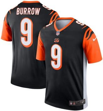 Nike Men's Joe Burrow Black Cincinnati Bengals Legend Jersey