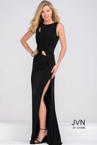 Jovani Fitted High Slit Long Prom Dress JVN3062