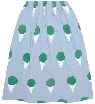 The Animals Observatory Ladybug printed cotton-jersey skirt