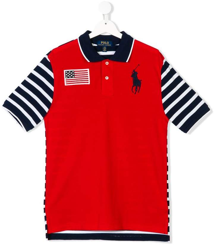 Ralph Lauren Kids TEEN polo shirt