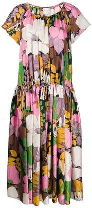 La DoubleJ Positano floral-print dress
