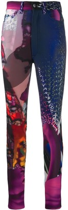 Maison Margiela Abstract Print Trousers