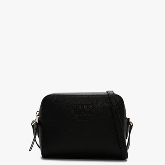 DKNY Noho II Black Pebbled Leather Camera Bag