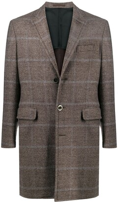 A.N.G.E.L.O. Vintage Cult 2000s Prince of Wales check coat