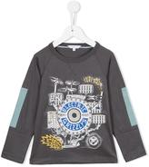 Little Marc Jacobs printed long sleeve top