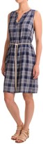 G.H. Bass & Co. Twill Plaid Dress - Rayon, Sleeveless (For Women)