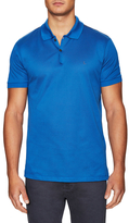 Lanvin Embroidered Spread Collar Polo Shirt