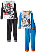 Star Wars Little Boys' Choosing Sides 4-Piece Pajama Set