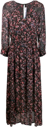IRO Sirthy neck paisley dress