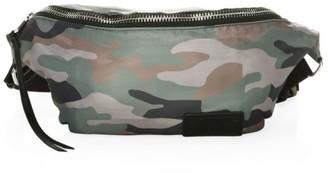 Rebecca Minkoff Camo-Print Nylon Belt Bag
