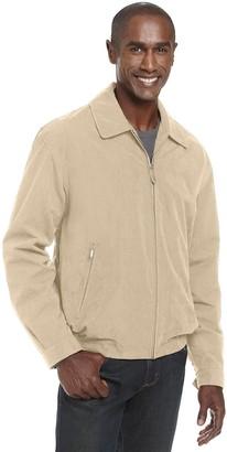 London Fog Men's Auburn Zip-Front Golf Jacket (Regular & Big-Tall Sizes) - green - Medium