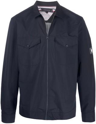 Tommy Hilfiger Patch Pocket Zipped Jacket