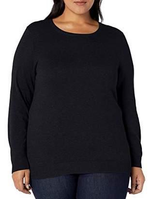 Amazon Essentials Plus Size Lightweight Crewneck Cardigan Sweater
