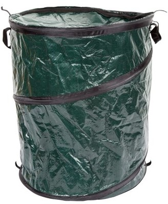 Outdoors Pop Up 33 Gallon Camping Garbage Can Trash Bin by Wakeman