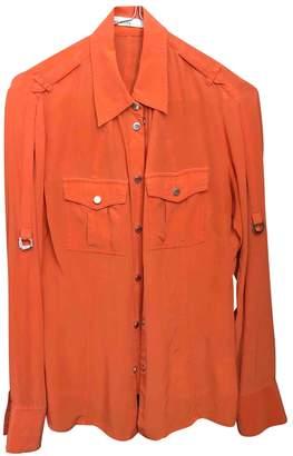 Karen Millen \N Orange Silk Top for Women