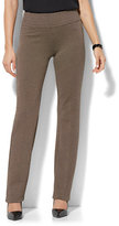 New York & Co. 7th Avenue Pant - Straight Leg - Signature - Pull-On Pant - Ponte Print - Petite