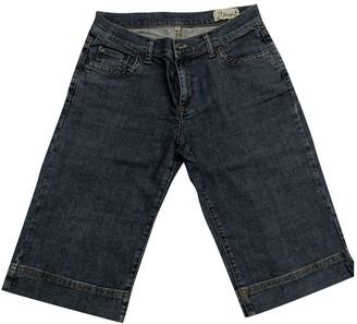Sandro Blue Cotton - elasthane Jeans for Women
