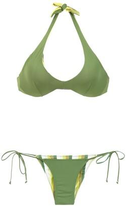 AMIR SLAMA Reversible Bikini Set