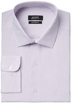 Alfani Men's Classic-Fit Performance Purple Dobby Striped Dress Shirt, Only at Macy's