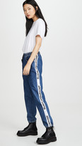 Alexander Wang Denim X Denim Track Pants