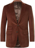 Thom Sweeney Slim-Fit Cotton And Cashmere-Blend Corduroy Suit Jacket
