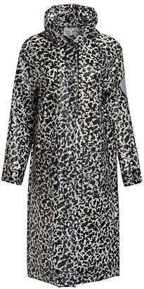 Proenza Schouler White Label Printed Long Raincoat