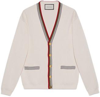 Gucci Knit cotton cardigan