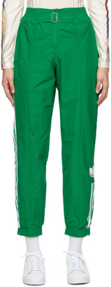 adidas Green Paolina Russo Edition Striped Lounge Pants