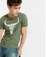 Express expr nyc cattle head graphic t-shirt