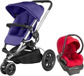 Quinny Buzz Xtra Mico AP Travel System - Red Rumor - Grey Gravel