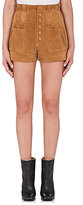 Saint Laurent Women's Suede Shorts