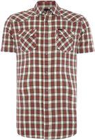 Diesel Men's Regular fit shirt sleeve check shirt