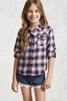 Forever 21 Girls Plaid Shirt (Kids)