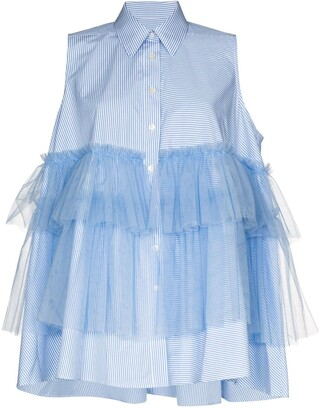Viktor & Rolf Tiered Ruffled Shirt
