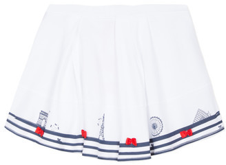 Lili Gaufrette MAYA girls's Skirt in White