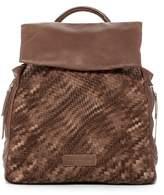 Liebeskind Berlin Handwoven Leather Backpack