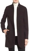 MICHAEL Michael Kors Women's Plaid Wool Blend Coat