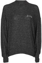 Topshop Sweet life batwing sweatshirt