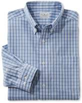 L.L. Bean Wrinkle-Free Vacationland Shirt, Slightly Fitted Long-Sleeve Plaid