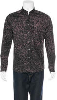 Paul Smith Scribble Print Woven Shirt w/ Tags