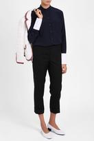 Thom Browne Tuxedo Stripe Cuffed Trouser