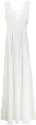 Ermanno Scervino lace-trimmed maxi dress